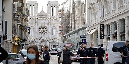 nizza-terror in kirche: messerattacke auf christen beim