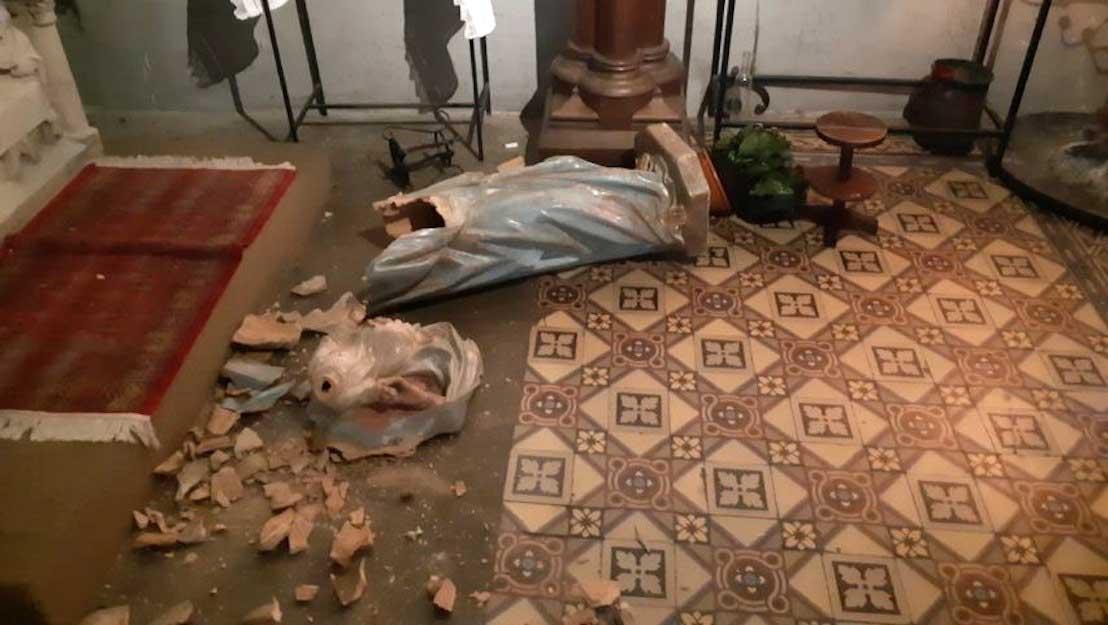Vandalismus und Kirchenschändungen in Frankreich erreichen schockierendes  Ausmaß - GLAUBE.at